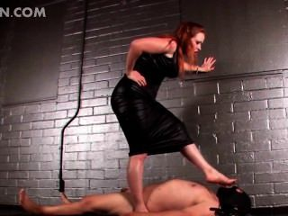 빨간 머리 여사 bdsm 비디오에 고문 거시기