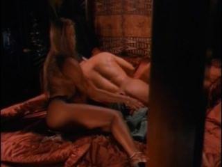 털이 많은 가슴이 된 보디 빌더가 매춘부에서 두 마리의 병아리를 씹습니다.