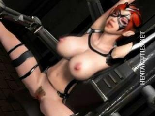 busty 3d anime 노예가 좆되다.