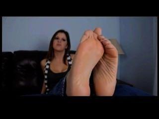 아름 다운 feets pov 애타게와 섹시 한 여자