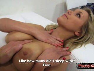 섹시한 모델 극단적 인 항문 섹스
