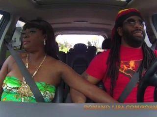 lisa rivera와 don whoe는 우리 트럭에서 초라하다!