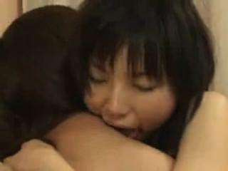 일본 레즈비언 문지름