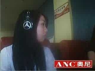 좋은 중국 소녀 흡연