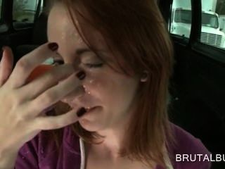 redhead tramp blowing and pug 스타일의 거시기