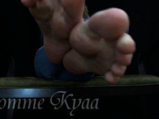 kyaa # 4 내 섹시한 발바닥을 저크!