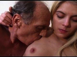 늙은이는 어린 소녀와 빌어 먹을.