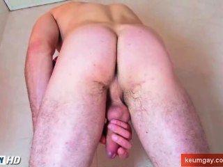 색조 수탉과 매우 섹시 str8 남자와 샤워를 복용!
