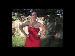 빨간 드레스 2