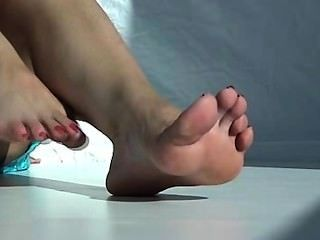 큰 발가락 발목 흔들기
