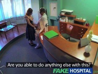 가짜 병원 의사 comparsory 건강 체크는 busty 임시 환자를 만든다.