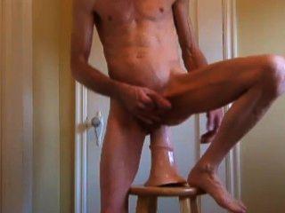 트로이의 말 페니스, 하드 수탉을 면도하고 엉덩이 씨발과 fisting 뻗어